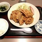 サウスヴィラ - 【2018/2】唐揚げ4定食
