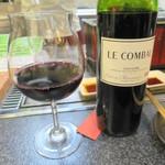 七輪バル たにやん - ここでも赤ワイン♪