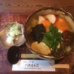 川井屋本店 - 京風きしめん(920円)