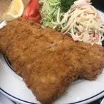 トンカツ 浅井 - ロースカツ定食1300円