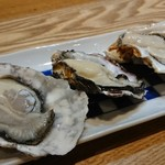 80396999 - 生牡蠣(の3種産地食べ比べ