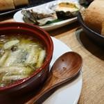 かき鐵 - 牡蠣のアヒージョ