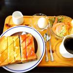 京口屋珈琲館 - 料理写真:モーニング500円