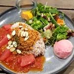 ラモ フルータス カフェ - 島豆腐×グレープフルーツのタコライス:1,880円税別