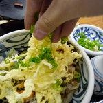 ふる里 - ☆葱をパラパラ~っとかけて☆