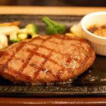 ステーキガスト - 牛100%ハンバーグ
