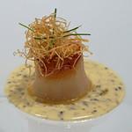 Takumi - 白バルサミコ酢風味のホタテのポワレ