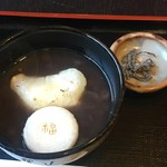 開田茶屋龍八 - 招福ぜんざい