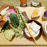 80404495 - 朝採れ野菜たっぷりラザニア(税込み1500円)