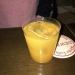 ホワイトラベル - オレンジのカクテル