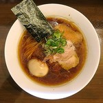 ラーメン ラカン - 味玉醤油ラーメン
