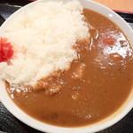 まつの屋 - 「カレーライス」(580円)