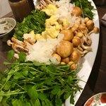 ソラマメ食堂 - キノコやお野菜たっぷり!