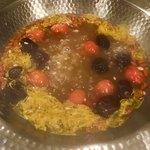 ソラマメ食堂 - トマトがいいアクセントになってす。