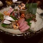 魚店亜紗 - オススメの刺身盛り