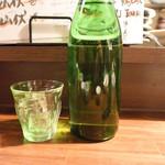 旬肴地酒 寅八 - 和らぎ水
