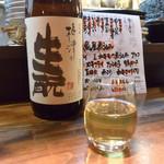 旬肴地酒 寅八 - 日本酒(梅津の生酛 純米酒 28BY)