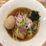 麺'sキッチン RIRI - 料理写真:味玉金煮干しそば(900円)★★★★☆