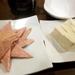 逸品飲茶縁茗 - 中華ハム、豆腐