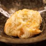 蒼穹 - 料理写真:ズワイ蟹の飯蒸し