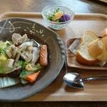 珈琲屋 ぐりんぴいす - 料理写真:まつ豚ポトフセット