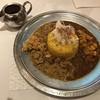 旧ヤム鐵道 - 料理写真:あいがけカレー(牛豚&ポーク) ※ターメリックライス