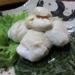 魚ざん - 大好物★フグの白子焼き(訂正しました・・)