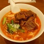 80421279 - 牛バラ肉刀削麺