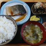 あおぞら食堂 - 料理写真:あおぞらランチ(750円)