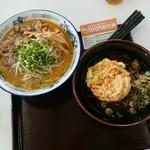 80421590 - かき揚げ蕎麦660円・もやし味噌ラーメン880円!