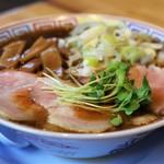 サバ6製麺所Plus - 料理写真:サバ醤油そば