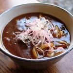 カフェテラス あらみ - 伊勢うどんの麺を使ったカレーうどん