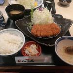とんかつ かつ喜 - 四元豚ロースランチ ¥1,058