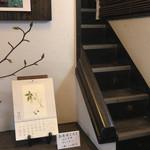 野の花 - 階段