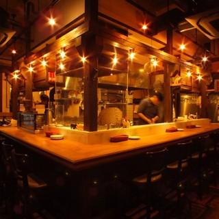 こだわりのビストロ料理!オシャレで落ち着く大人の空間。