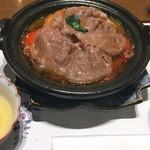 80424954 - トマトすきやき膳 (2500円)