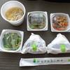 musubime - 料理写真:店内で頂けますが時間もなかったので、 ◆一汁三菜セット(600円:税込)をテイクアウトしました。セット内容は変更不可。 おむすび2個、お総菜3種、お味噌汁のセット。