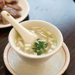 羊香味坊 - 白身魚とラム肉のスープ