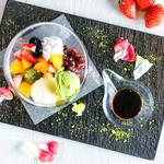 和パフェ 〜季節のアイスとフルーツ〜