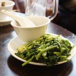 羊香味坊 - 茹で野菜の田舎醤で食べる冷菜