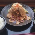 80426974 - 生姜焼き定食 780円