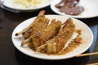 羊香味坊 - スペアリブ(ハーフサイズ)