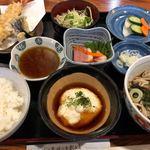 蕎麦酒家 辰味 - 料理写真:天とろ定食 1180円。