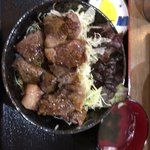 和牛焼肉丼のいち - 肩ロース丼 ¥600-+税 (2018.2.4)