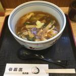 六条新町 招福亭 - たぬき580円うどん選択