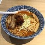 80427701 - 濃厚辛味噌鶏そば(激辛、麺大盛り)