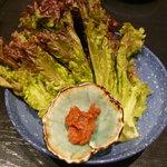 韓国レストラン ハヌリ - ラフコース(3,500円)~サンチュ