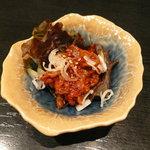 韓国レストラン ハヌリ - ラフコース(3,500円)~チャンジャ