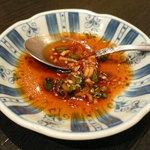 韓国レストラン ハヌリ - ラフコース(3,500円)~チヂミのタレ