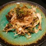 韓国レストラン ハヌリ - ラフコース(3,500円)~サラダ